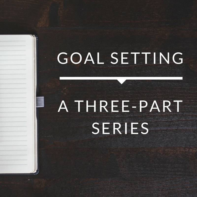 Goal Setting: A Three-Part Series