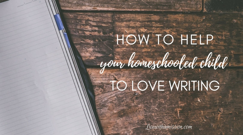 Homeschooling Help With Writing