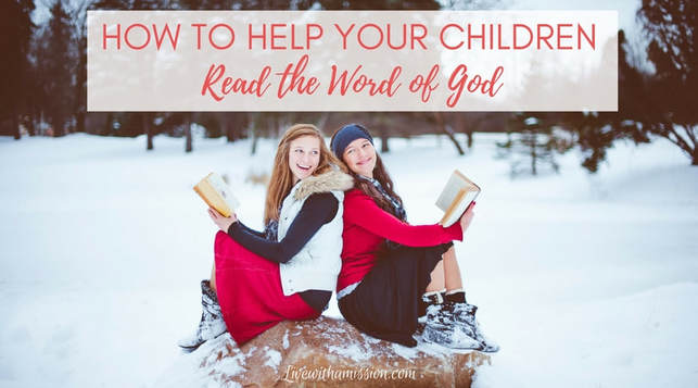 Help children read the Bible